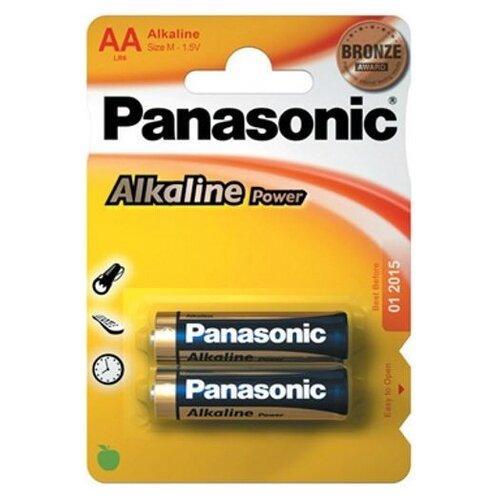 Купить Батарейка Panasonic Alkaline Power AA/LR6 2 шт блистер