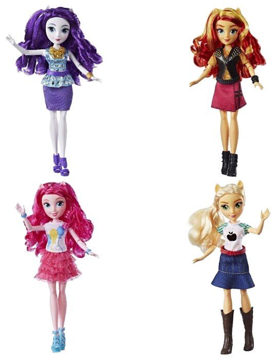 Кукла My Little Pony Equestria Girs Новые друзья, 28 см, E0348
