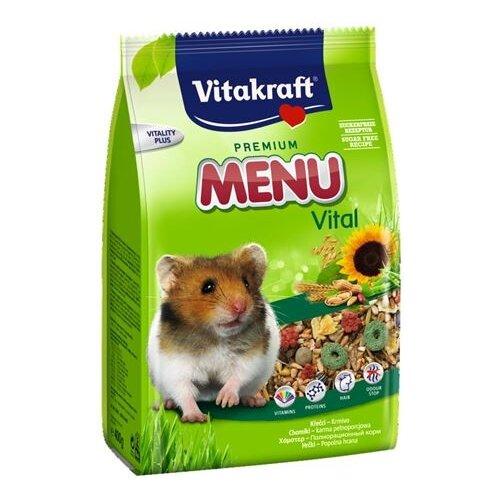 Корм для хомяков Vitakraft Premium Menu Vital 1 кг корм для белок и бурундуков vitakraft premium menu vital 600 г