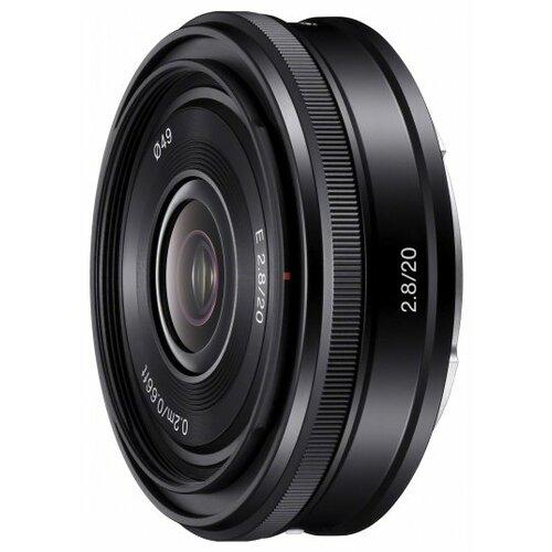 Фото - Объектив Sony 20mm f/2.8 E (SEL-20F28) черный объектив viltrox pfu rbmh 20mm f 1 8 asph sony e черный