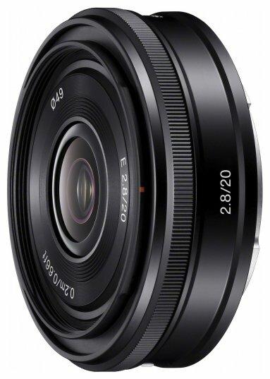 Объектив Sony 20mm f/2.8 E (SEL-20F28)