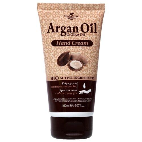 Крем для рук HerbOlive Argan oil & olive oil 150 мл крем для лица argan oil argan oil ar041lwsju89