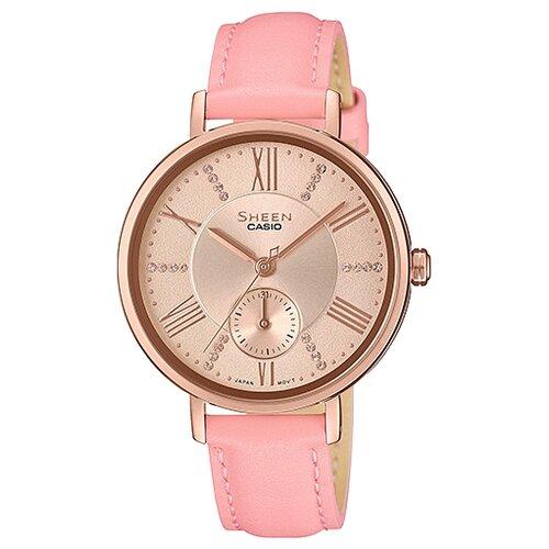 цена Наручные часы CASIO SHE-3066PGL-4A онлайн в 2017 году