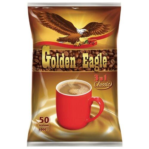 Растворимый кофе Golden Eagle 3 в 1 Classic, в пакетиках (50 шт.) туалетный табурет golden eagle tag furniture