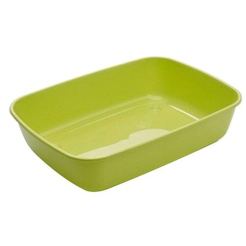 Туалет-лоток для кошек SAVIC Iriz L 50х36.5х11.5 см зеленое яблоко