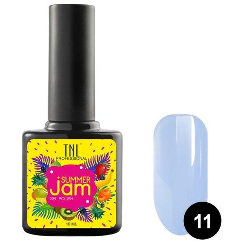 Гель-лак TNL Professional Summer Jam, 10 мл, оттенок 11 неоновый светло-сиреневый
