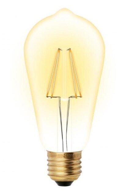 Светодиодная лампа Uniel 5Вт, LED-ST64-5W/GOLDEN/E27 GLV22GO 450Лм 2200К (UL-00002360)