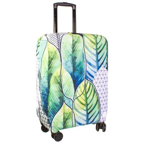 Чехол для чемодана PROFFI Travel Экзотика M, ПринтЧемоданы<br>