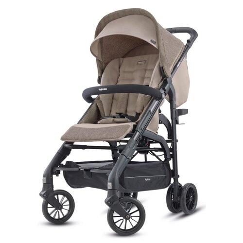Прогулочная коляска Inglesina Zippy Light safari beige, цвет шасси: черный стульчик для кормления inglesina my time цвет sugar az91k9sgaru