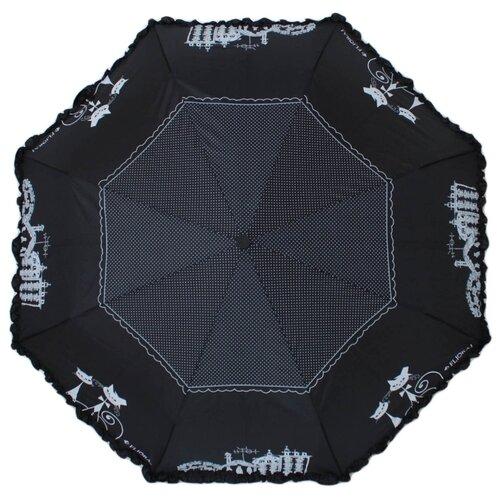 Фото - Зонт автомат FLIORAJ 250103 FJ черный/белый flioraj fl976cgxpm52