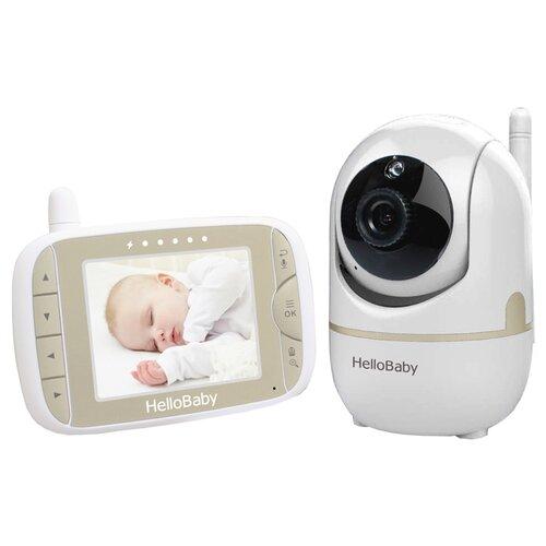 Купить Видеоняня Hello Baby HB65 белый/бежевый/черный, Радио- и видеоняни