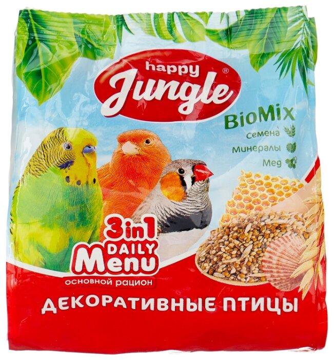 Happy Jungle Корм Daily Menu для декоративных птиц