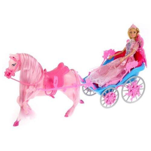 Фото - Кукла Карапуз Принцесса София с Лошадью и каретой, 29 см, 99124-S-AN кукла карапуз софия повар 29 см