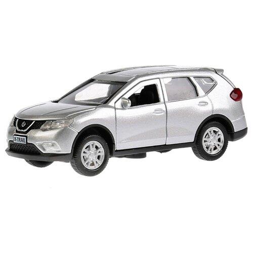 Купить Легковой автомобиль ТЕХНОПАРК Nissan X-Trail (X-TRAIL-SL/BK/GD) 1:36 12 см серебристый, Машинки и техника