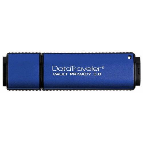 цена на Флешка Kingston DataTraveler Vault Privacy 3.0 32GB синий
