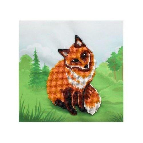Фото - Бисеринка Набор для вышивания бисером Лисичка 20 х 20 см (Б-0097) dali 0097
