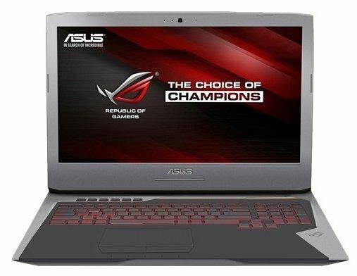 Ноутбук ASUS ROG G752VL