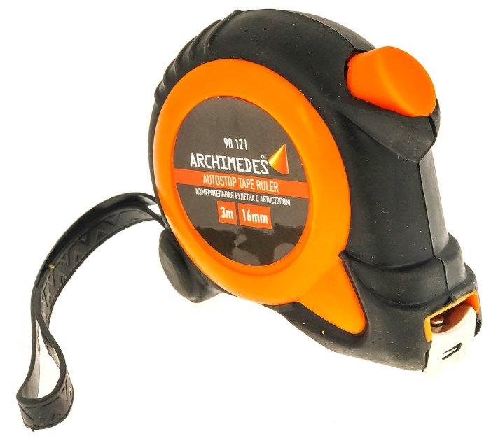 Рулетка Archimedes 90121 16 мм x 3 м