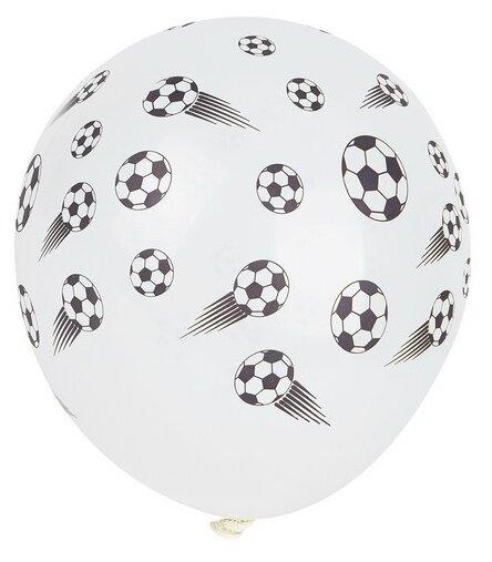 8 шариков с рисунком «Футбол»