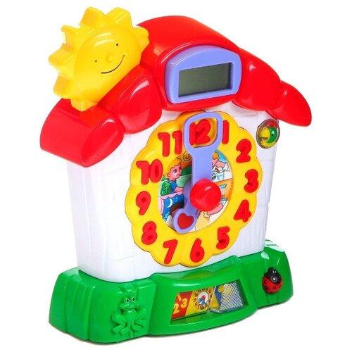 Интерактивная развивающая игрушка Joy Toy Часики знаний белый/красный/зеленый