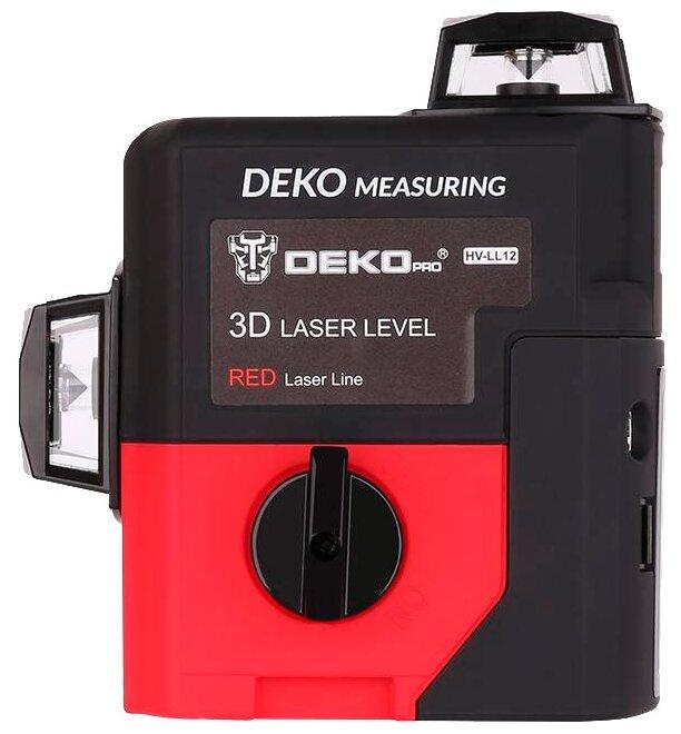 Лазерный уровень DEKO LL12-HVR
