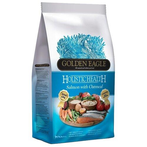 Корм для собак Golden Eagle (6 кг) Holistic Health Salmon with Oatmeal Formula 22/12 корм для собак golden eagle 2 кг hypo allergenic salmon