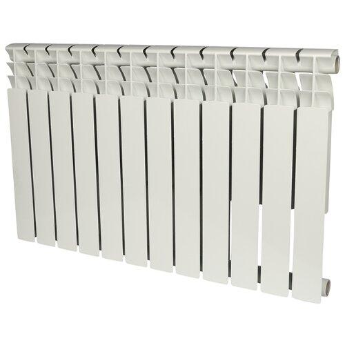 Радиатор секционный биметаллический ROMMER Optima Bm 500 x12 500/78 12 секций , подключение универсальное боковоеРадиаторы<br>