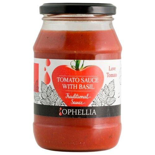 Соус Ophellia Томатный с базиликом, 420 г unidan соус томатный с хреном 500 г