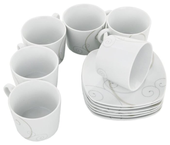 сервиз чайный LEFARD Завтрак у королевы 6/15 фарфор