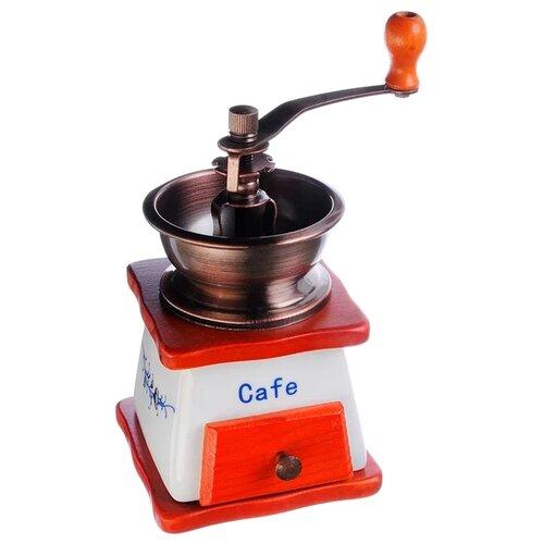 Кофемолка Vetta 827-002, белый/коричневый