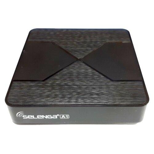ТВ-приставка Selenga A1 черный
