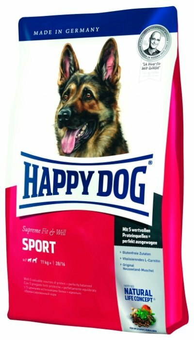 Корм для собак Happy Dog Supreme Fit & Well для активных животных