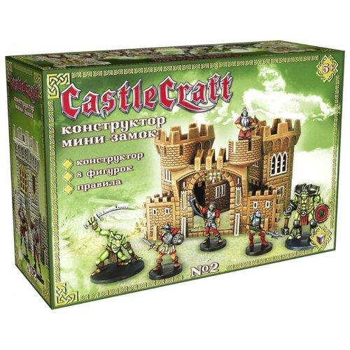 Настольная игра Технолог CastleCraft Мини-замок № 2 Испанцы и оркиНастольные игры<br>