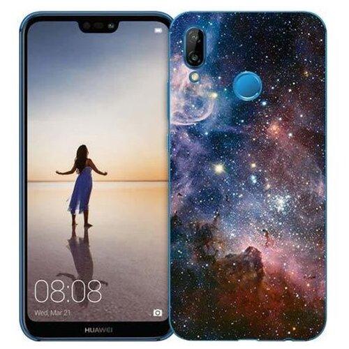 Чехол Gosso 710338 для Huawei P20 Lite космос чехол для сотового телефона gosso cases для huawei p20 lite soft touch 186905 темно синий