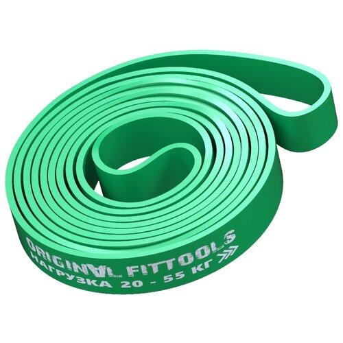 Эспандер лента Original FitTools FT-EX-208-44 208 х 4.4 см зеленый
