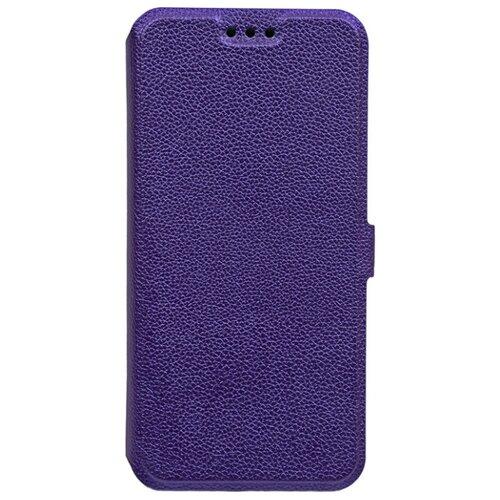 Чехол Gosso UltraSlim Book для Huawei P20 Lite фиолетовый чехол для сотового телефона gosso cases для huawei p20 lite soft touch 186905 темно синий