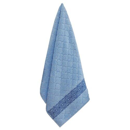 Аллегро полотенце Микрокоттон 70х140 см синий