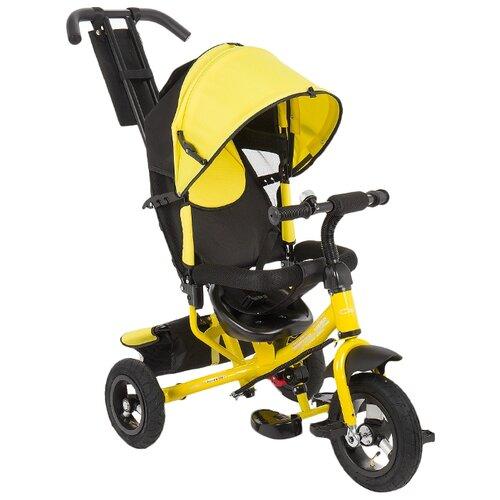Купить Трехколесный велосипед Capella Action trike (A) (2019) yellow/black, Трехколесные велосипеды