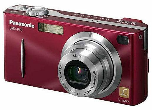 Фотоаппарат Panasonic Lumix DMC-FX5