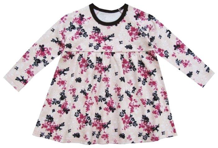 Платье ПАНДА дети размер 122, розовый