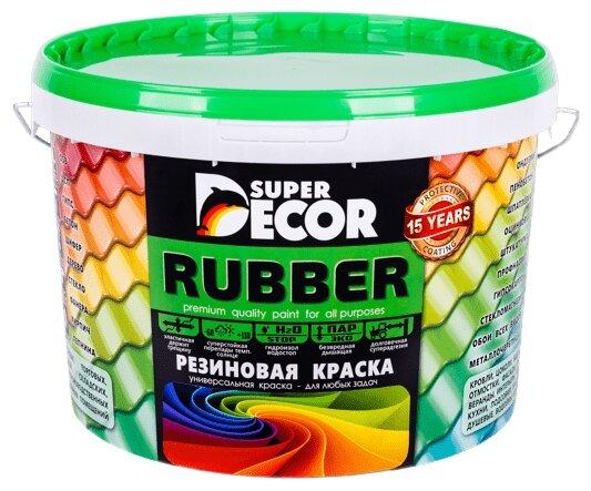 Краска акриловая Super Decor Резиновая краска ВД-АК-103 матовая