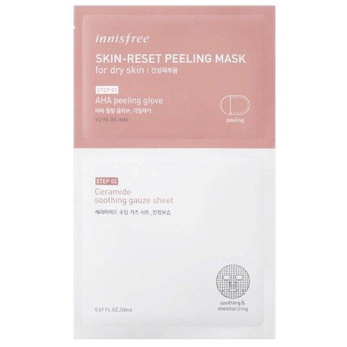 Innisfree пилинг-маска для сухой кожи Skin-Reset Peeling Mask For Dry Skin 26 мл пилинг skin tech цена