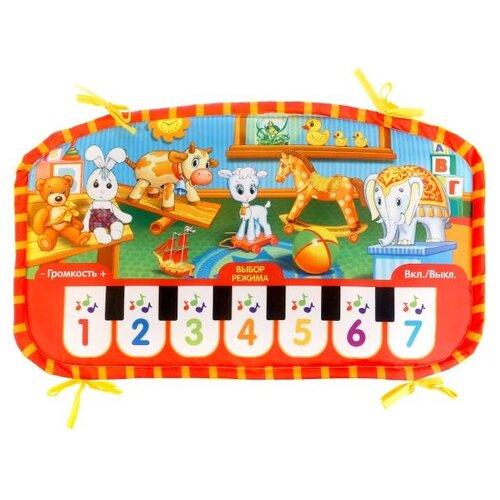 Музыкальный коврик Умка Песни по стихам А. Барто (HX0692-R) музыкальный коврик умка малышарики yq3003 r
