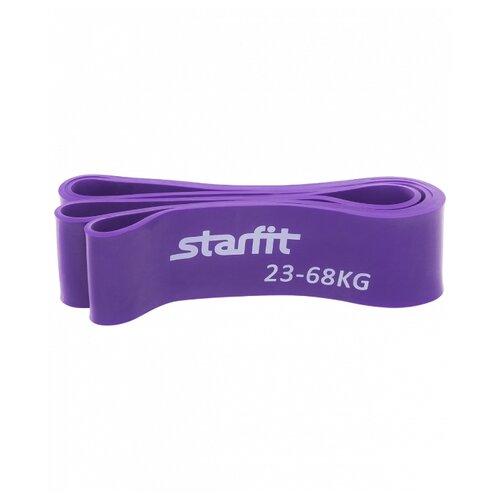 Эспандер лента Starfit ES-801 (23-68кг) 208 х 6.4 см фиолетовый эспандер лента starfit es 801 23 68кг 208 х 6 4 см фиолетовый