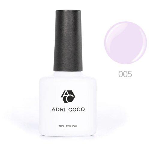 Гель-лак для ногтей ADRICOCO Gel Polish, 8 мл, оттенок 005 светло-лиловый