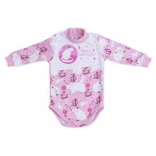 Купить Боди Babyglory размер 86, розовый