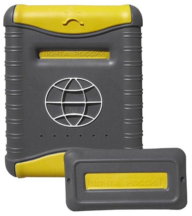 Почтовый ящик Цикл Стандарт 4978-00 390х280 мм, желтый