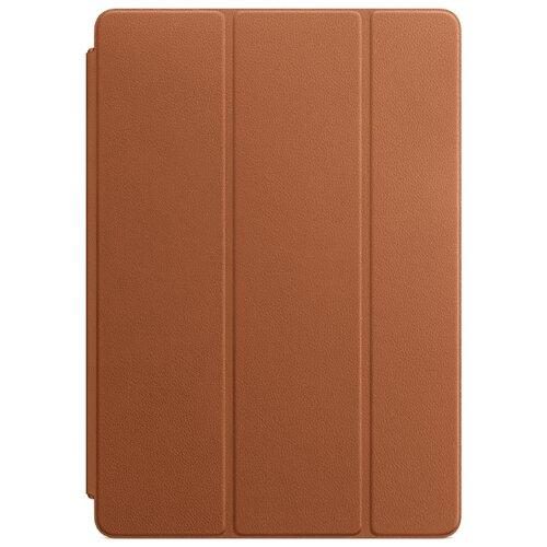 Чехол Apple Smart Cover Leather для iPad Pro 10.5 Saddle Brown чехол подставка apple leather smart cover для apple ipad pro 10 5 кожаный красный