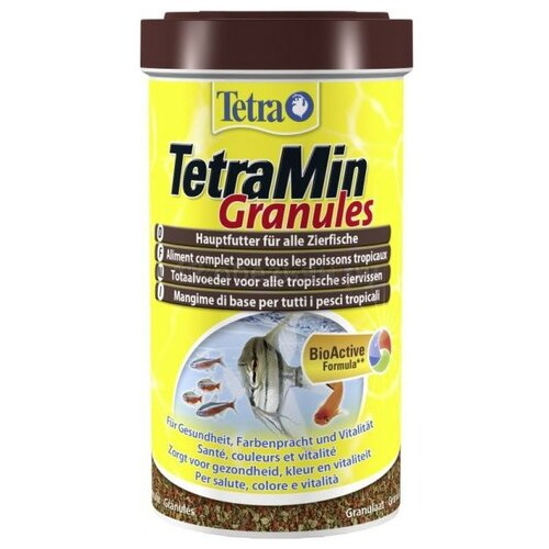 Фото - Сухой корм для рыб Tetra TetraMin Granules, 400 г сухой корм для рыб tetra tetramin granules 200 г