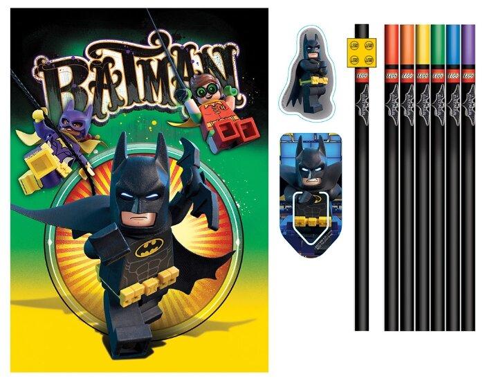 Канцелярский набор LEGO Batman Movie (51749), 12 пр.
